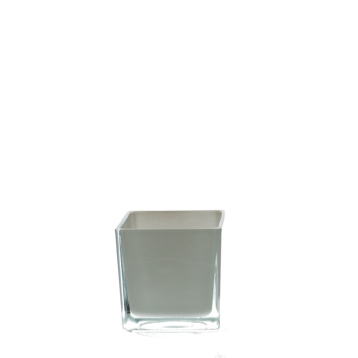 <h4>Glass colour Cube taper d08*08cm</h4>