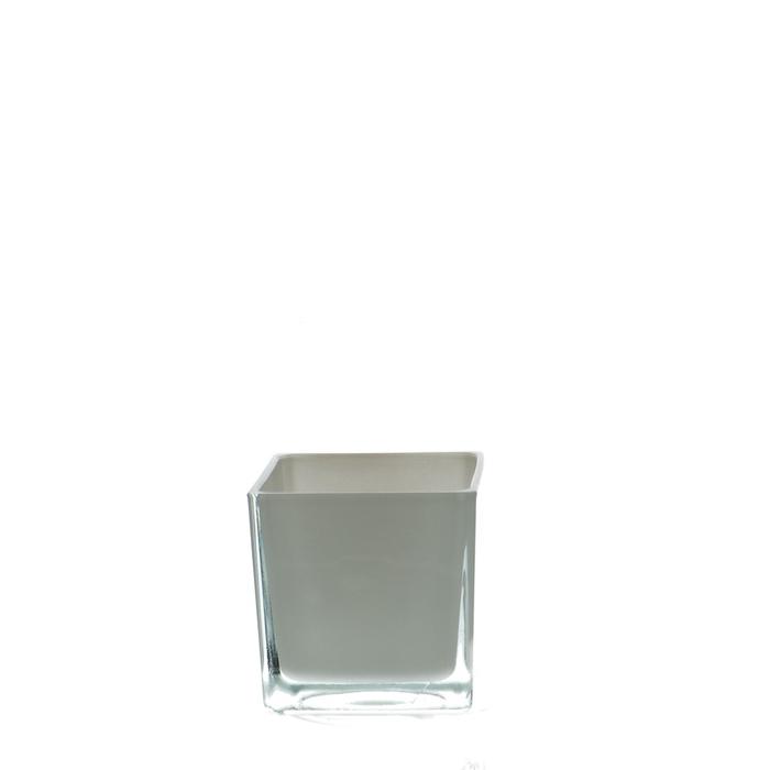 <h4>Glass colour Cube taper d08*08cm</h4>