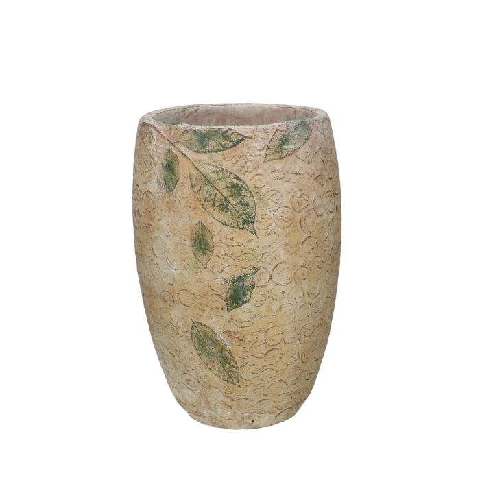 <h4>Ceramics Chestnut vase d18.5*28.5cm</h4>