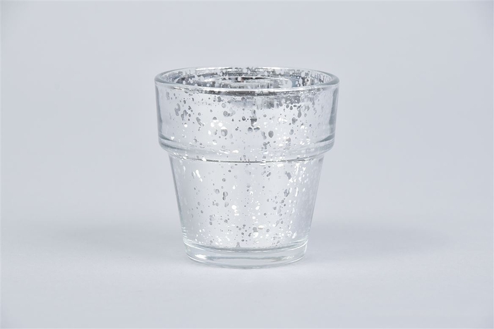 <h4>Waxine Glans Zilver 7cm</h4>