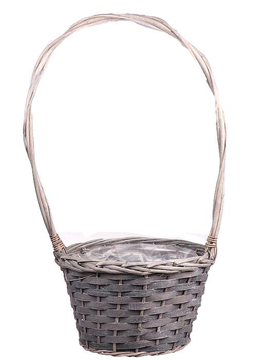 <h4>DF662010400 - H.basket Hazell1 d22xh15/th48 grey</h4>