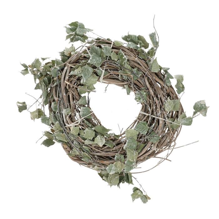 <h4>Wreath d30cm Birch leaves</h4>