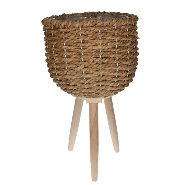 <h4>Baskets Pot/feet seagrass d26*20cm</h4>
