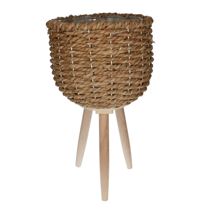 <h4>Baskets Pot/feet seagrass d26*20cm</h4>
