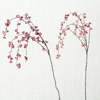<h4>Zijde, Kersenbloesem, H 130 cm, 2 ass, Pink, Rose</h4>