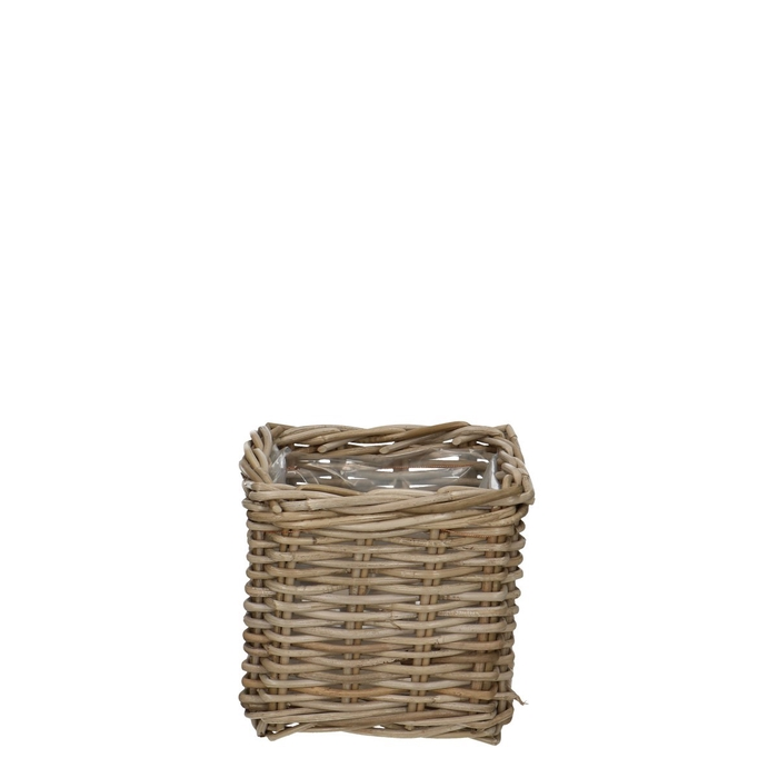 <h4>Baskets Rattan pot sq d20*20cm</h4>