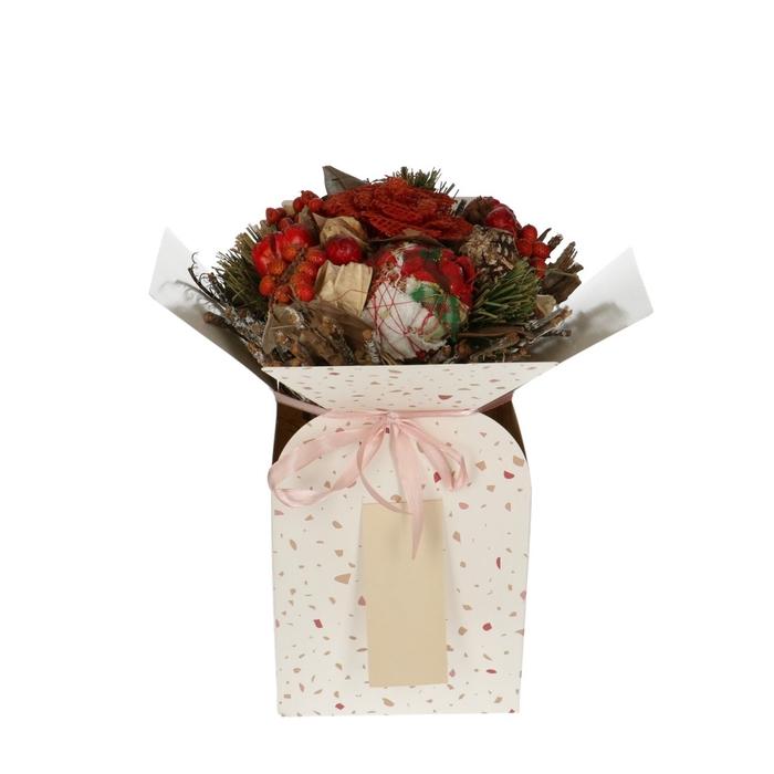 <h4>Bags Bouquet vase dot 13/13*26cm</h4>