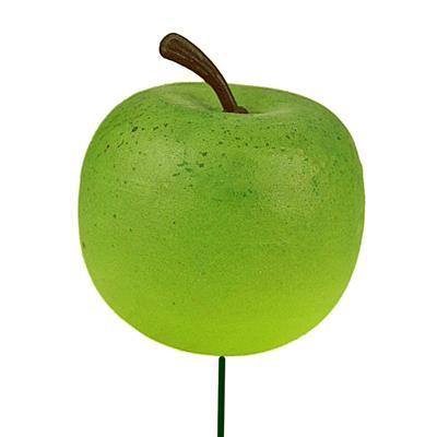 <h4>Bijsteker Appel Ø4cm+10cm draad zak 36st groen</h4>