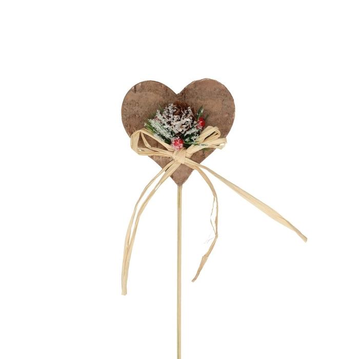 <h4>Christmas sticks 20cm Christmas heart d7.5cm</h4>