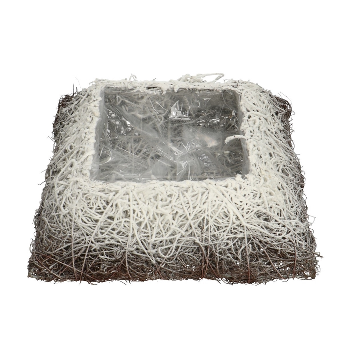 <h4>Promo Salim planter square+snow 30cm</h4>