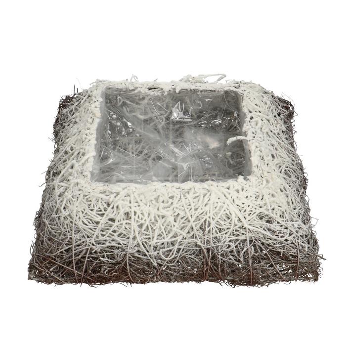 <h4>All Saints Salim planter square+snow 30cm</h4>