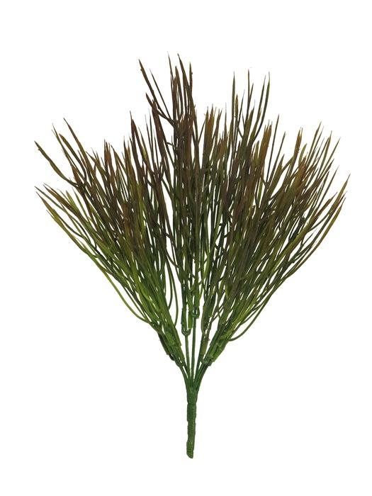 <h4>SILK GRASS BUSH CERA BROWN 38CM 51380-8</h4>