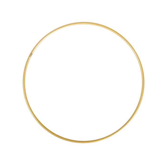 <h4>METAL RING ROUND SINGLE 020CM GOLD</h4>