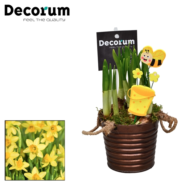 <h4>Narcis Copper Bucket HL15600N</h4>