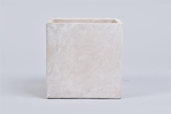 <h4>Beton Pot Vierkant 13x13x13cm</h4>