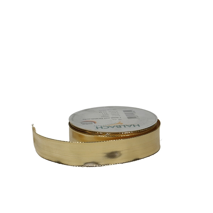 <h4>Ribbon Glitzer+wire 25mm 25m</h4>