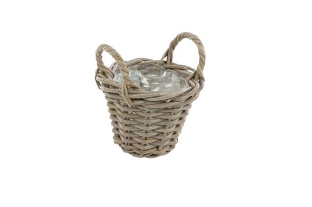 <h4>Basket Petrey d18xh20 grey</h4>