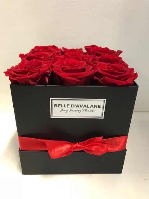 <h4>Flowerbox vk 15cm zwart/rood</h4>