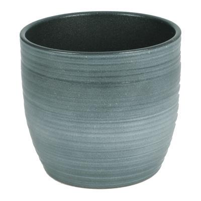 <h4>Pot Bergamo Céramique Ø14xH13cm menthe vert</h4>