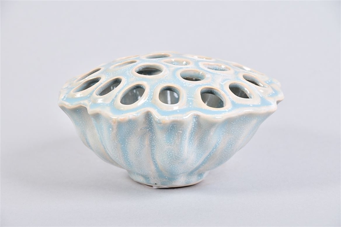 <h4>Lotus Schaal Lake Blue 14x8cm</h4>