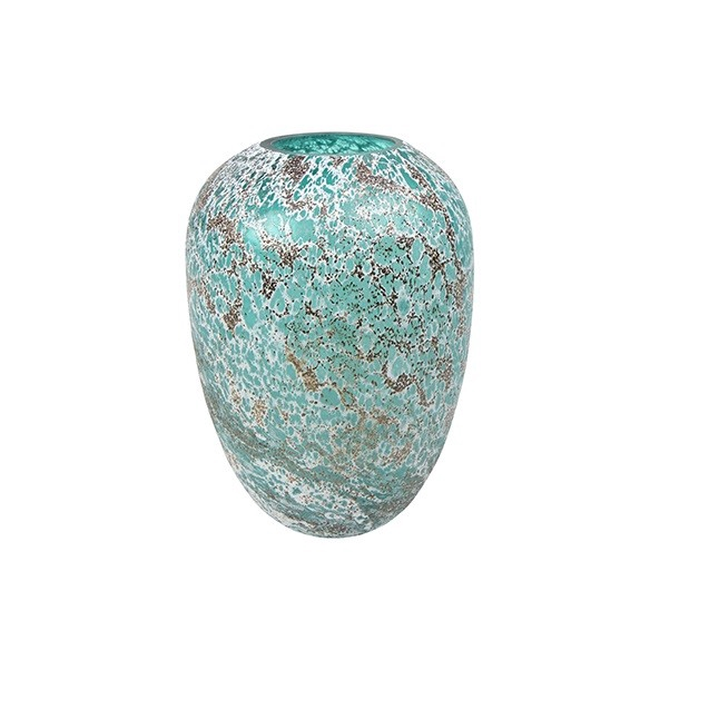 <h4>Glass colour Kate ball vase d30*45cm</h4>