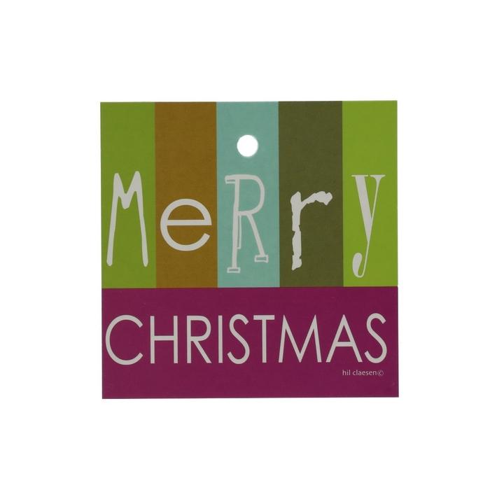 <h4>Opruiming Kerst Kaart 70mm x25 M.Christmas</h4>