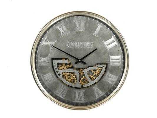 <h4>Clock Gear Ø60cm Grey</h4>