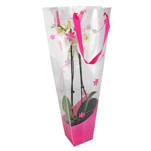 Bag Flow PP 30/12x11xH70cm pink