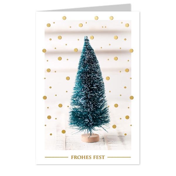 <h4>Kerst Kaart 17*12cm x6 Frohes Fest</h4>