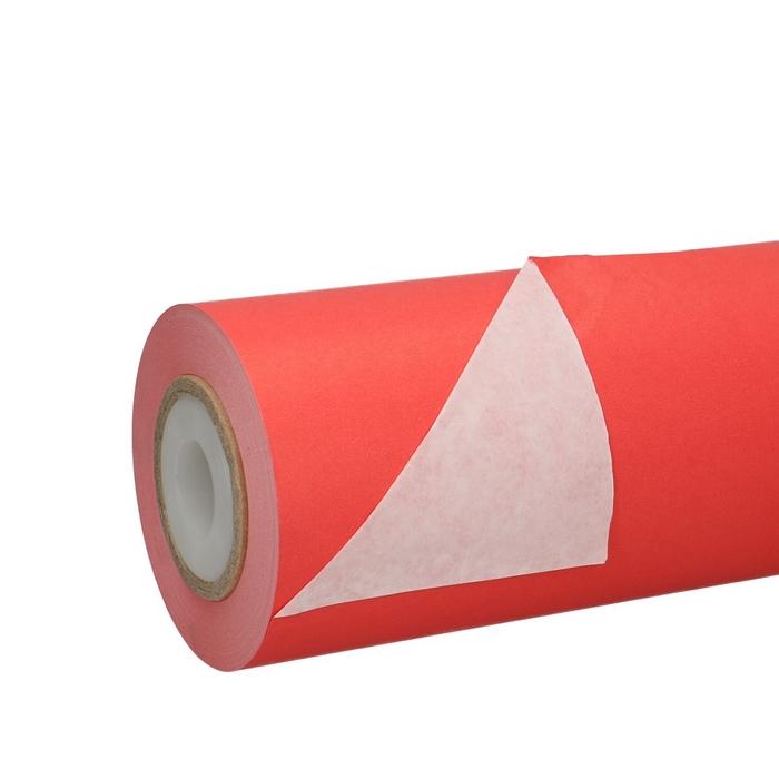 <h4>Papier Rol 25cm 50g 1.25kg Wit/Rood</h4>