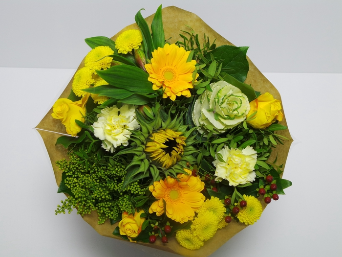 Bouquet KIM Medium Yellow