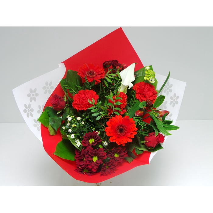 <h4>Bouquet Biedermeier Medium Red</h4>