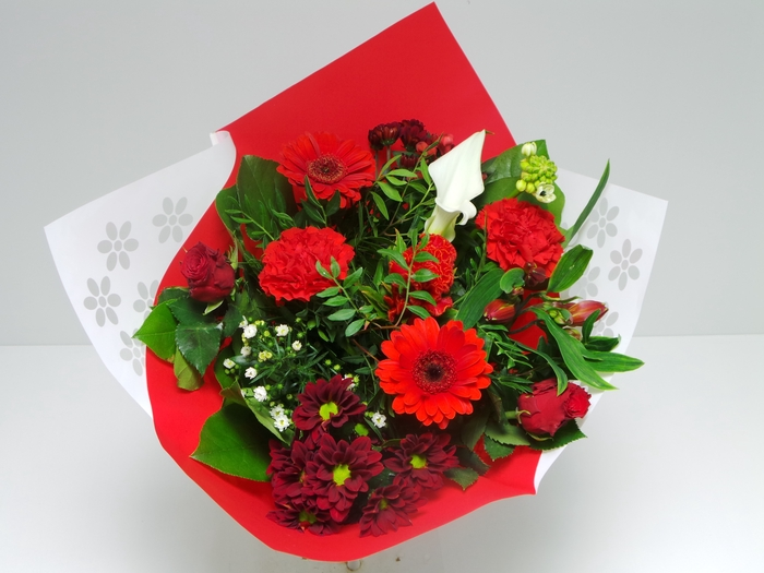 <h4>Bouquet Biedermeier Medium Red</h4>