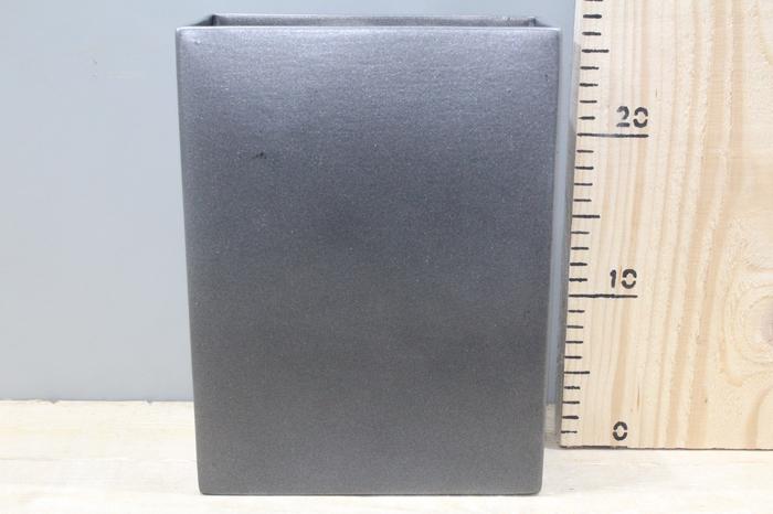 <h4>VASE OSLO MEDIUM GRAPHITE H27 D21X10.5 160529</h4>