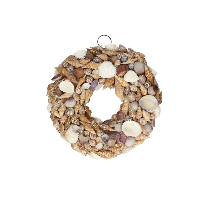 <h4>Wreath d24cm Shells mix</h4>
