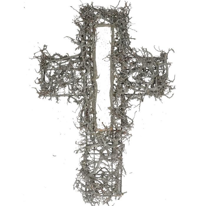 <h4>All Saints Bonsai cross 40*58cm</h4>