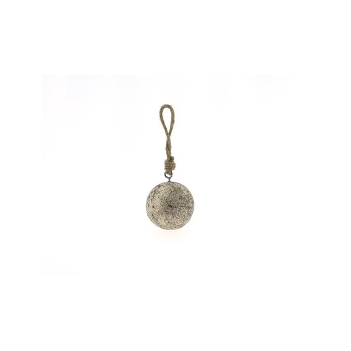 <h4>Ball Wood Hang Ø7cm Platinum</h4>