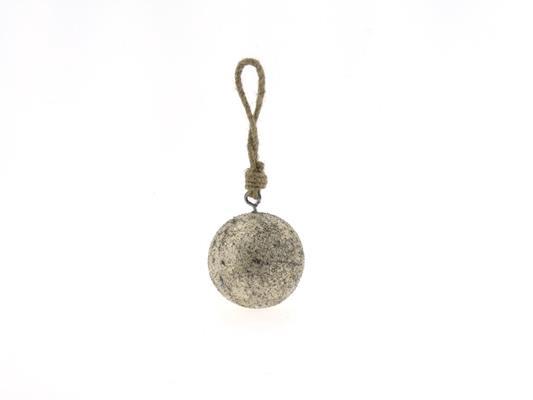 <h4>Ball Wood Hang Ø7cm Platinum</h4>