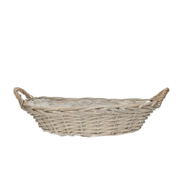 <h4>Baskets Olivia bowl+handle 44/30*9cm</h4>