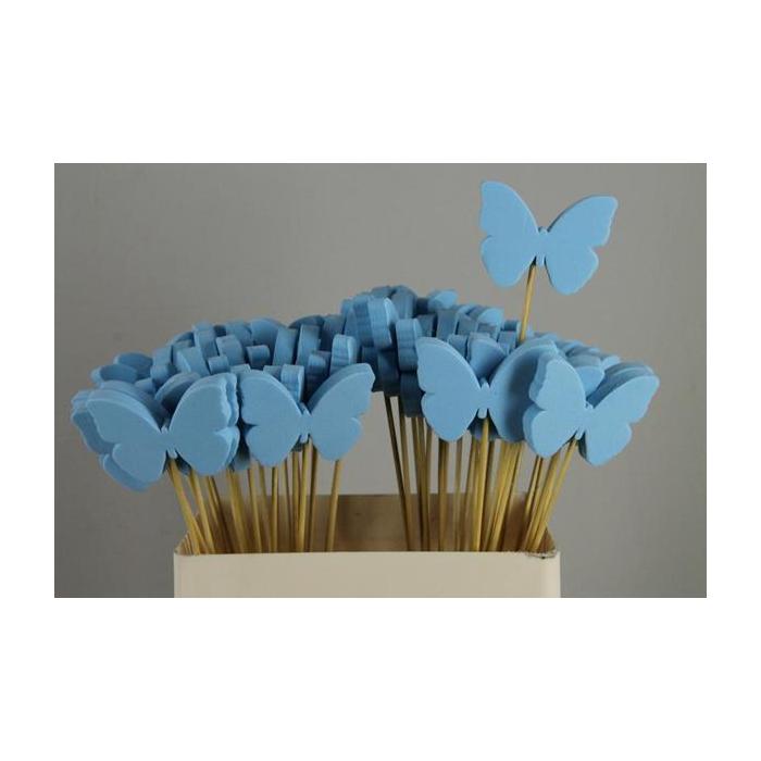 <h4>Stick Butterfly Foam Blue</h4>