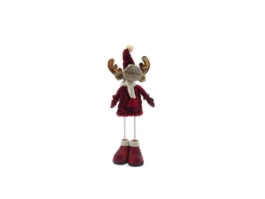 <h4>Fig. Reindeer Red 13x9x41cm</h4>