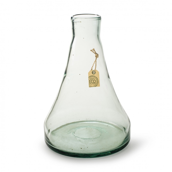 <h4>Glas Eco Vaas Ellie d5/20*20cm</h4>