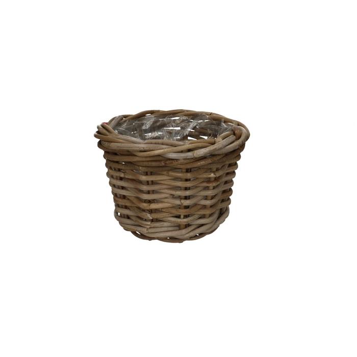 <h4>Baskets Rattan pot d24*17cm</h4>