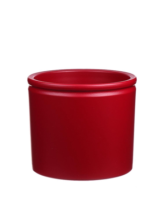 <h4>DF883677747 - Pot Lucca d14xh12.5 winered matt</h4>