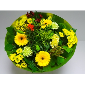 Bouquet Biedermeier Large Yellow