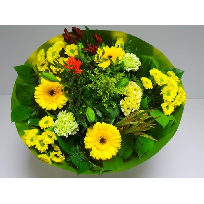 <h4>Bouquet Biedermeier Large Yellow</h4>