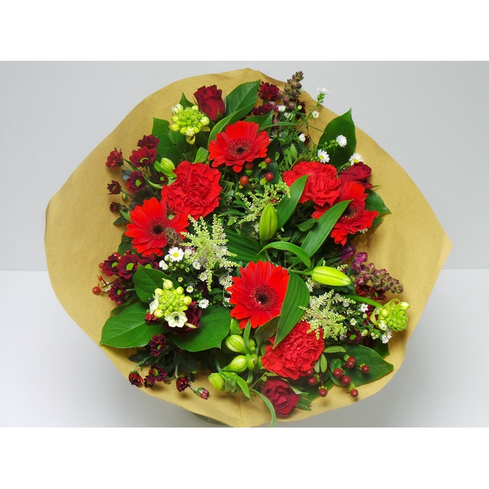 <h4>Bouquet Hip Large Red</h4>