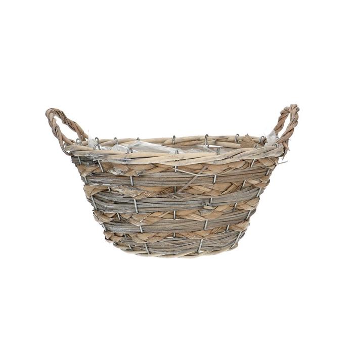 <h4>Baskets Dark round d26*13cm + ears</h4>