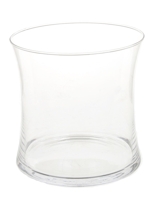 <h4>DF000087378 - Vase Zambia d15xh15 clear</h4>