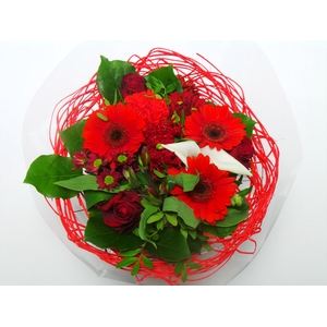 Bouquet Sisal Large Red